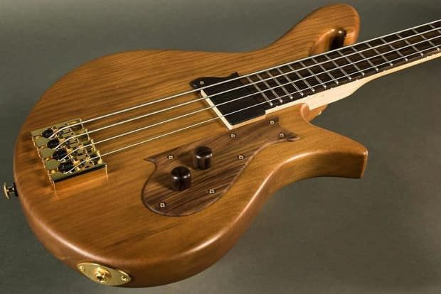 "Birdsong Fusion #15F-051, 31"" Scale Bass Guitar, ANCIENT 