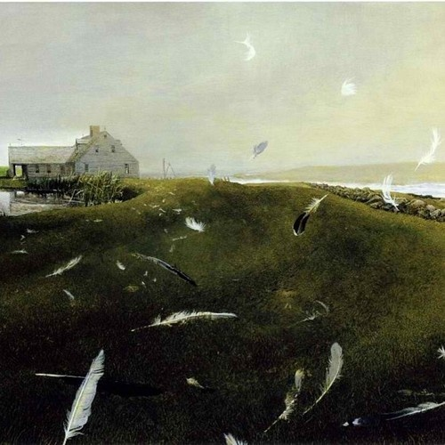 Andrew Wyeth - my absolute favourite -wish I could walk every one of his paintings....:
