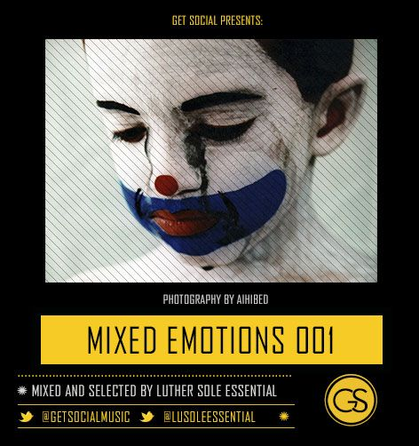 Get Social Brand presents the June edition of the monthly cloudcast, Mixed Emotions. Mixed and selected by South African soulful house stalwart, Luther Sole Essential, the mix features an incredible collection of eleven beautiful tracks. Though bordering between the fine lines of poolside vibes and dance floor kickers, you will find that the mix itself is somewhat an ever-shapeshifting flow of dynamic electronic music.