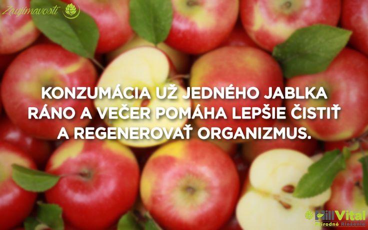O jablkách sme už niekoľko krát písali, no toto ovocia si zaslúži viac pozornosti. Vedeli ste, že nám jablká môžu pomôcť aj pri tomto? 🍎