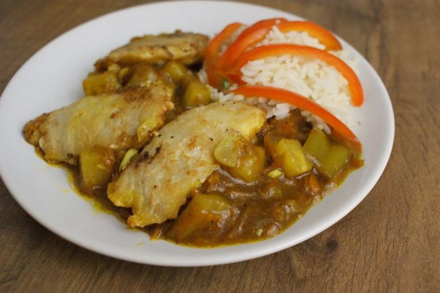 Fish with pineapple - Asiatic' food