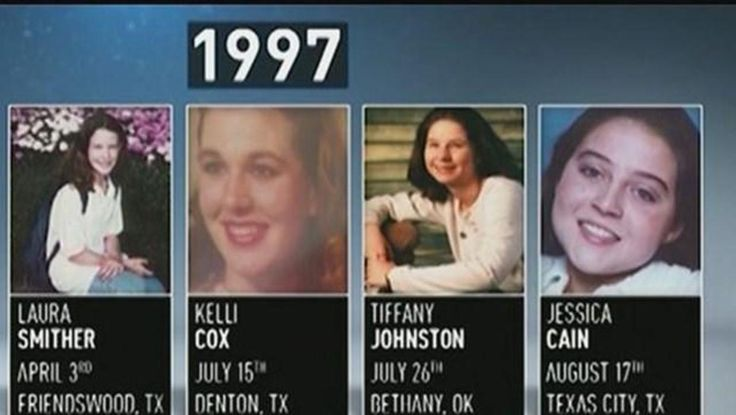 Suspected serial killer charged in 1997 murders of 2 Texas girls