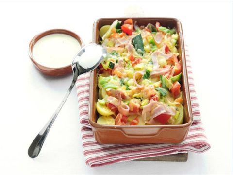 Aardappel-groenteschotel