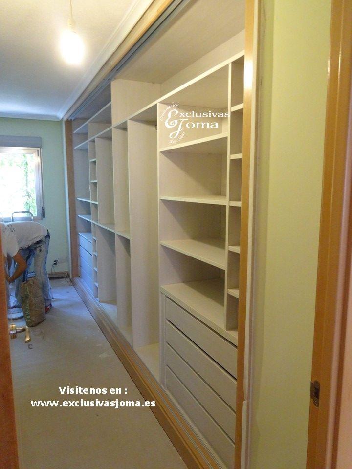 Mejores 12 im genes de armarios interiores en pinterest for Armario madera natural