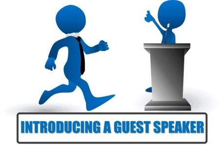 How to introduce a guest speaker and cover all bases in two minutes or less