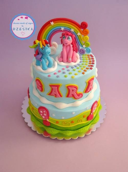 My Little Pony. Meredith says: I know some little girls who would LOVE this cake!