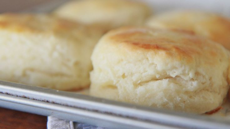 Soft, fluffy, buttery, golden southern buttermilk biscuits! It's enough to bring a man to his knees....I made this recipe and it turned out great.