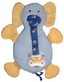 pacifier holder elephant. Cumitartó elefánt (baba játék) baba játékok plüss játék plüss szabásminta
