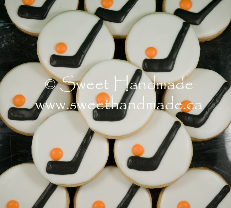 Sweet Handmade Cookies: Ball Hockey Tournament Cookies