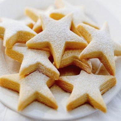 Delicious Shortbread Cookies Shortbread Cookies Star