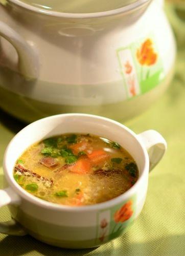 Krupnik z kaszą jaglaną #zupa #soup #restaurant