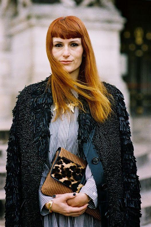 Paris Fashion Week AW 2014....Sara