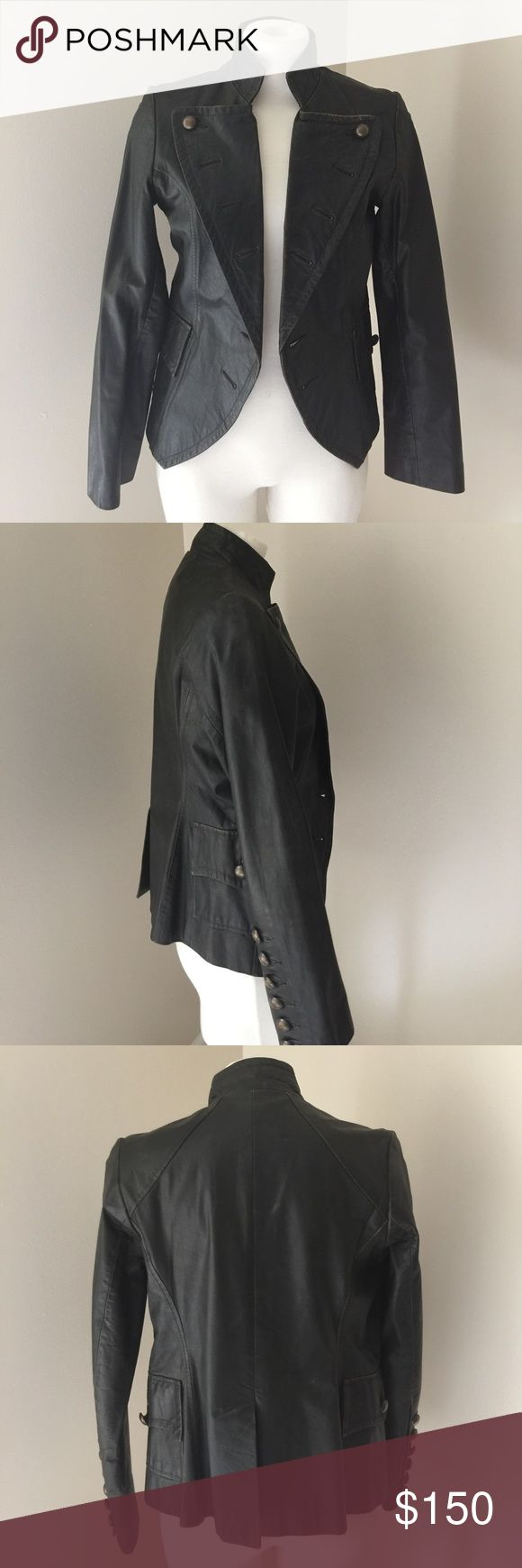 🎉SALE🎉Cino vintage leather jacket Cino vintage leather jacket cino Jackets & Coats