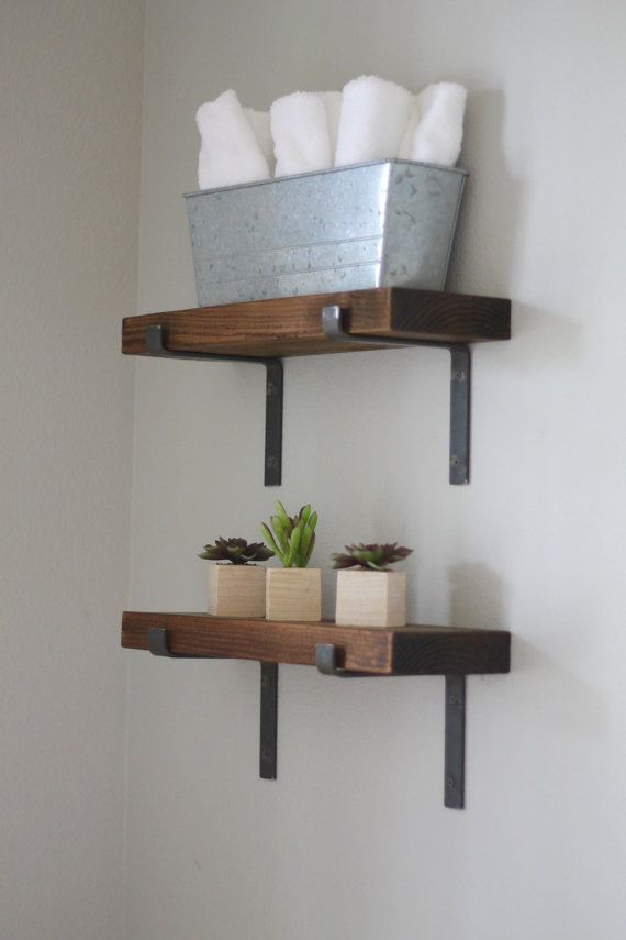 black shelf brackets iron powder coated open shelving supports for modern industrial decor