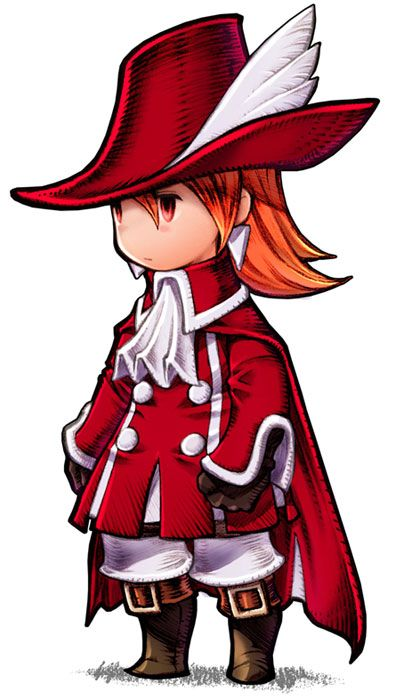 Refia - Red Mage from Final Fantasy III (DS)