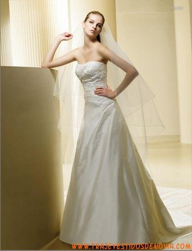 117 best vestidos de novia outlet images on Pinterest | Short ...
