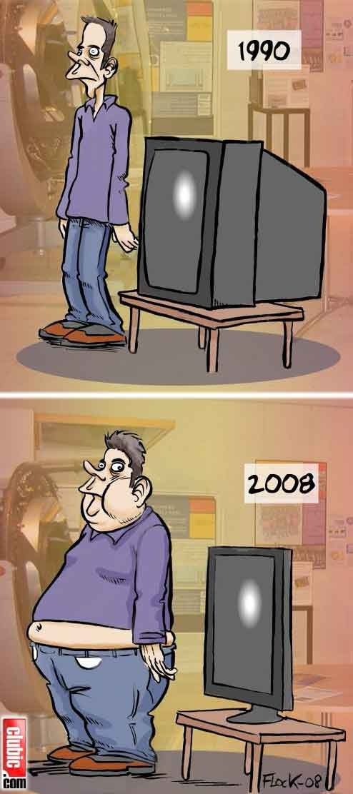 tv omg so true it's scary