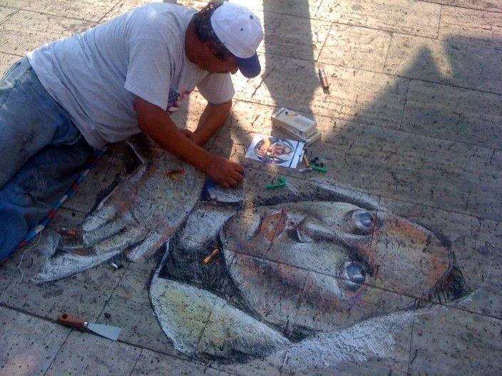 Aitoliko - Street Painting 2