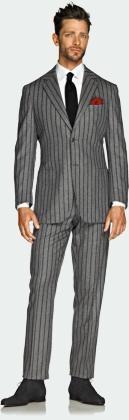 Bold pin stripes