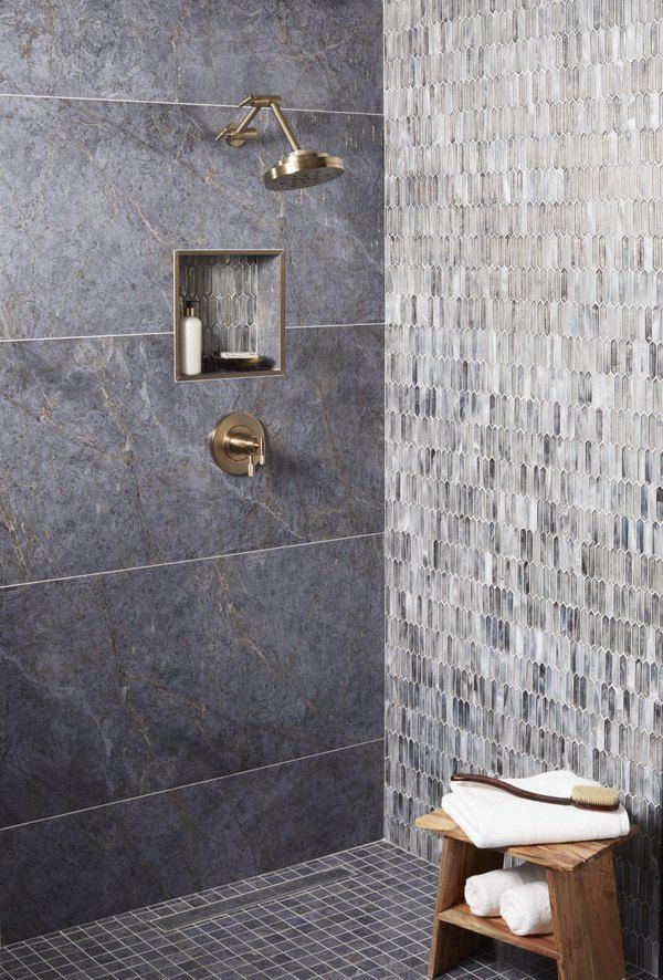 7 Glass Tile Bathroom Ideas Worthy Of Your Dream Home Pinterest