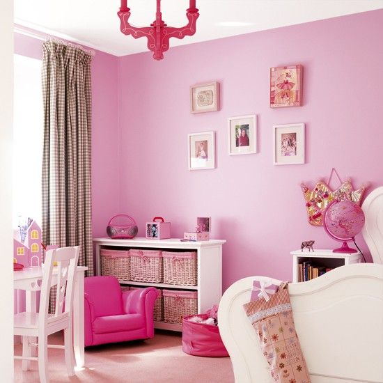 Girl Bedroom | Vibrant Pink Girlu0027s Bedroom | Childrenu0027s Furniture | Pink ...