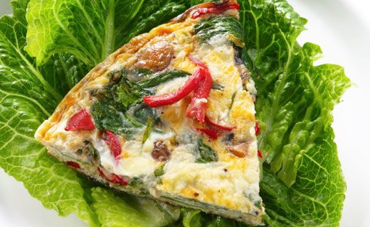 Epicure's Crustless Spinach Quiche