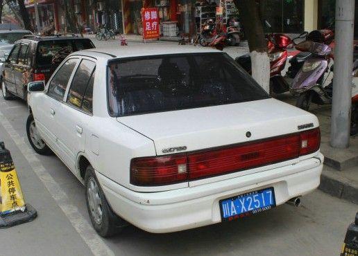 Haima CA7130 (a Chinese-built Mazda 323)