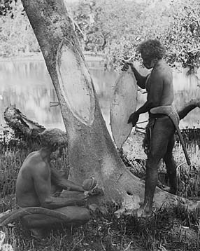 Aboriginal Technology - Canoe Making