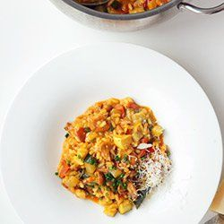 Letnie risotto z warzywami | Kwestia Smaku