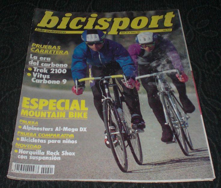 Revista-Ciclismo-Bicisport-N-21-Enero-1991-Poster-John-Tomac-Carbono-mountain