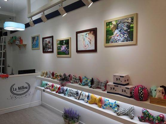 one of La Millou's showroom