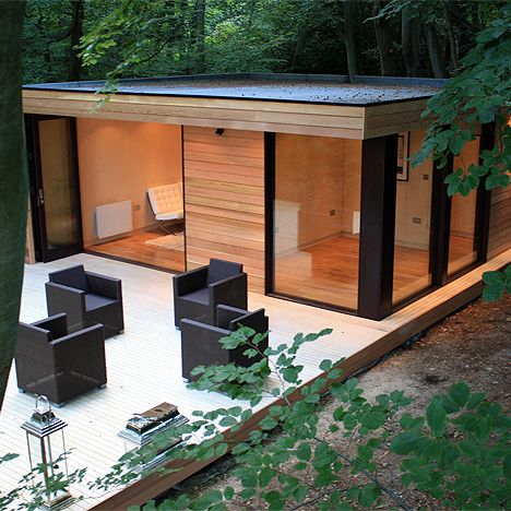 Garden studio room by In.It.Studios one day my dreams may come true