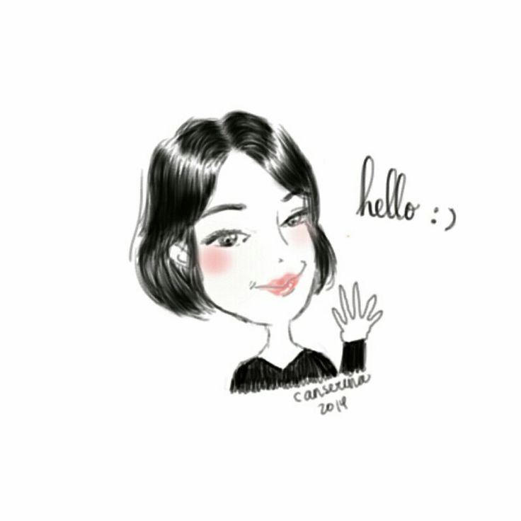 I usually draw figure from front view and small lips. So this is a new style, an oblique view and sexy lips lol :* #drawing #sketch #art #doodle #illustration