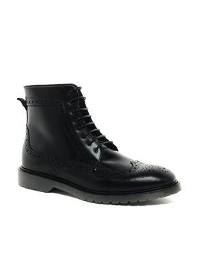 Longwing Brogue Boots / black