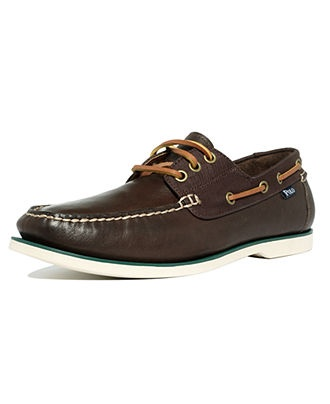 Polo Ralph Lauren Boat Shoes. Still not outdated.