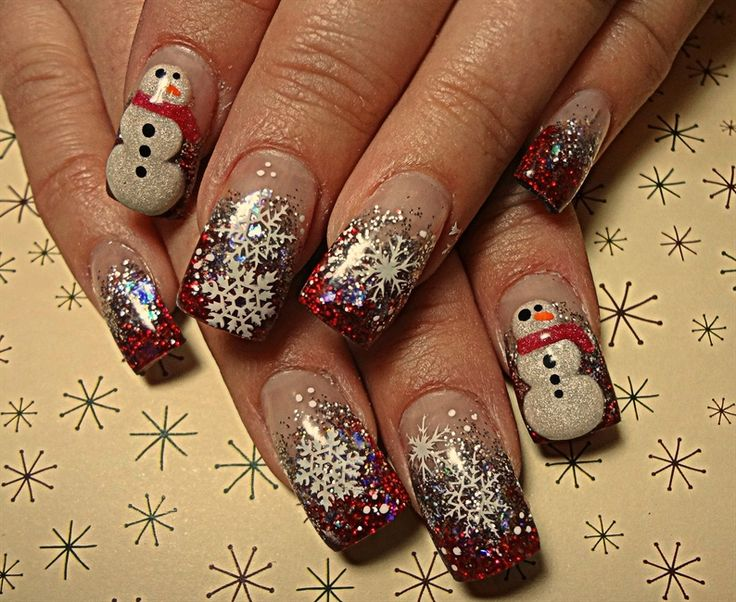 Snow Day - Nail Art Gallery
