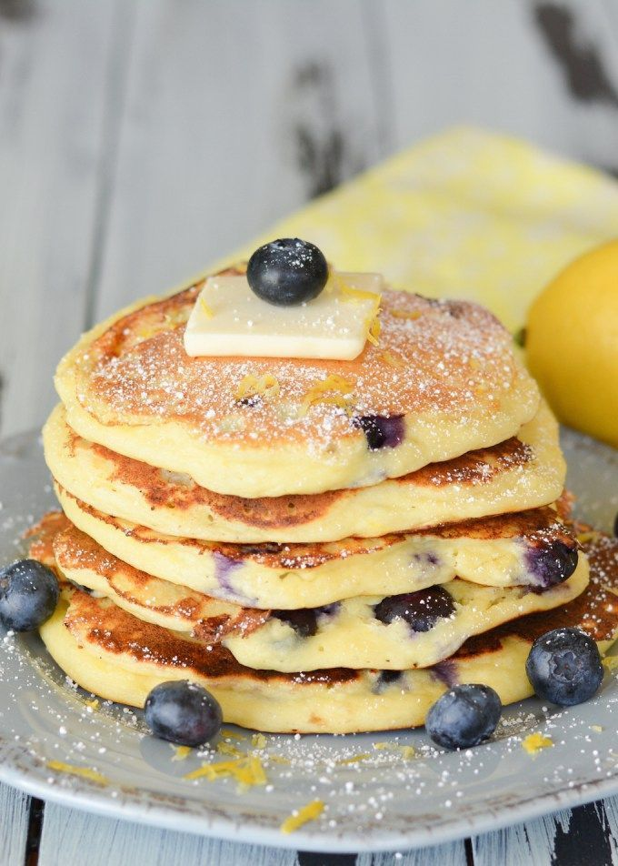 Blueberry Ricotta Pancakes Best Thing Ever Ate
