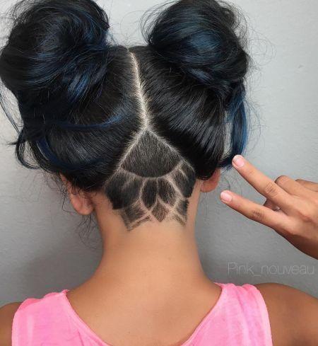 Belle coiffure avec Space Bun, essayez ces coiffures d'été