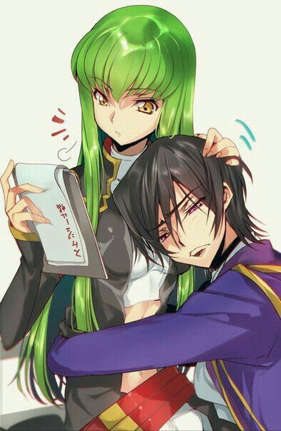 Code geass C.C and Lelouch