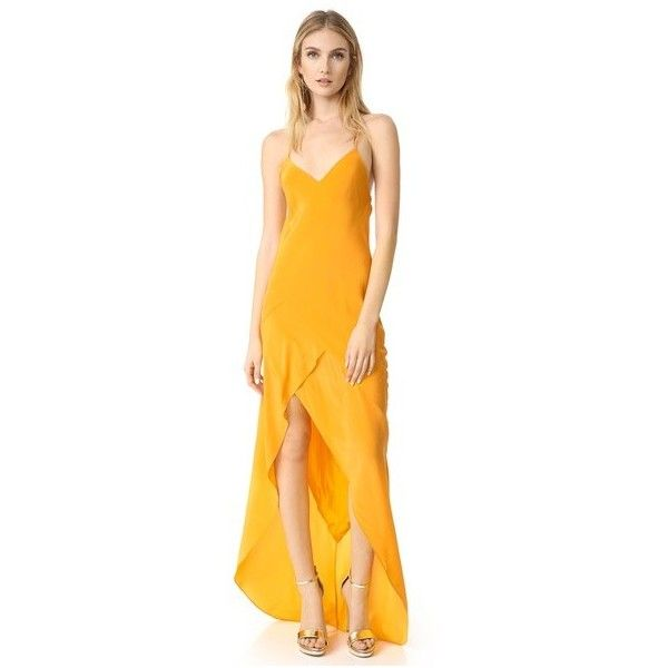 The 25  best Yellow evening dresses ideas on Pinterest | Long ...