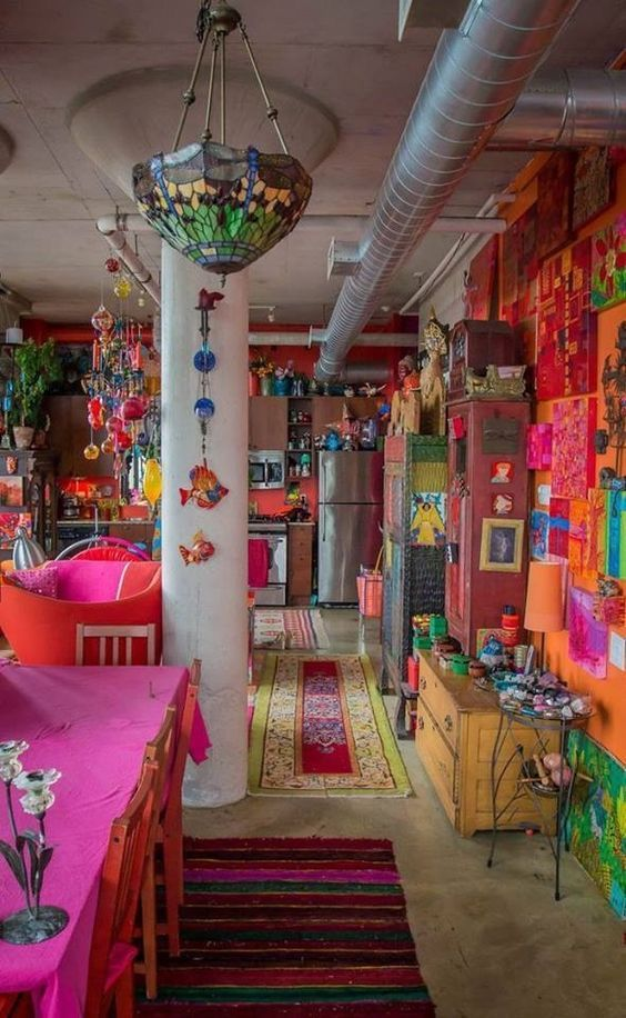 Colorfull Bohemian Style Apartment Of Cécile Figuette: 1791 Best Images About Bohemian Interior Aesthetics On