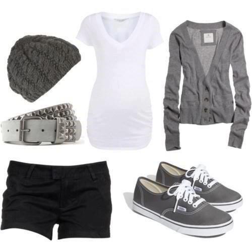 Cute basics -spring outfit.                                                        #abbigliamento