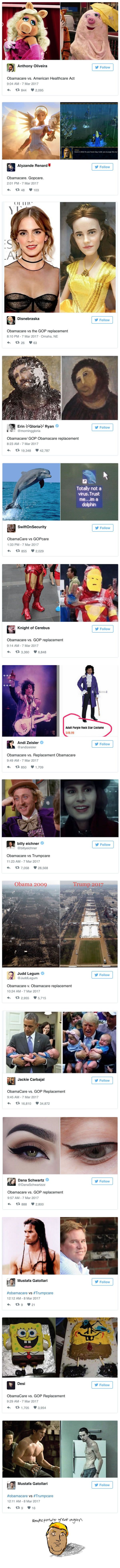 """Republicans Are Calling Trumpcare """"Obamacare Lite,"""" And These Memes Sum Up Precisely What That Means"""