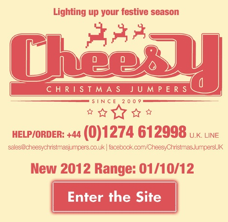 Cheesy Christmas Jumpers 2012