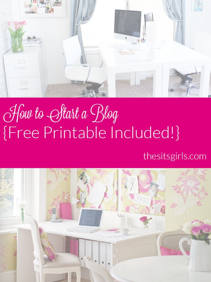Do you want to start blogging? Here is everything you need to know to start a blog. PLUS a free printable to help you get organized.