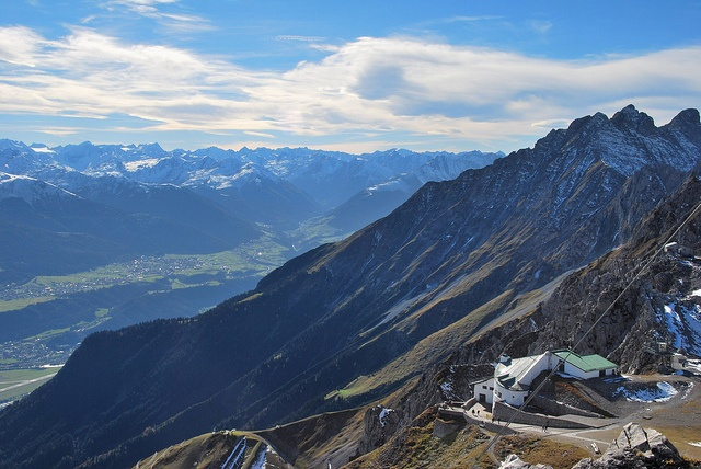 Top of the Insbruck mountains. Great place to visit.