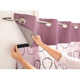 cortina de velcro,dá pra mudar sempre!!amei!!