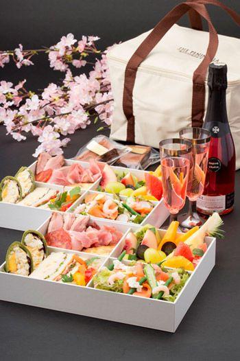 桜の下で食べたい、ホテルのお花見弁当5選 ( page 2 )   GQ JAPAN