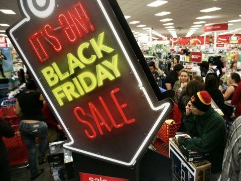 2014 Black Friday sales fall 11% from same period last year