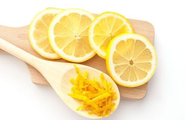 Используем кожуру лимона